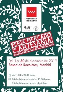 Feria mercado de artesania Madrid