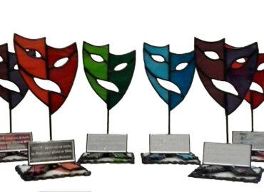 Trofeos. Galardones con Placas grabadas realizada por Natalia Benchoam